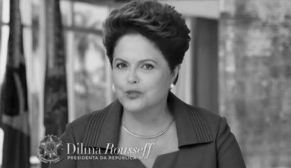 Em cadeia de rádio e TV, Dilma anunciará  hoje a suspensão da Copa