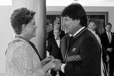 Dilma troca Davos pela Bolívia; uma vez gentalha, sempre gentalha!