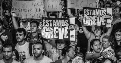 APEOESP contrata figurantes e falsifica greve em SP