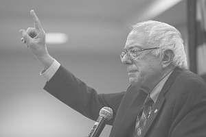 Bernie Sanders não consegue calar a boca enquanto o Brasil é remido