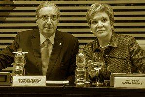 Marta Suplicy retira direitos comunistas e se redime com os homens bons