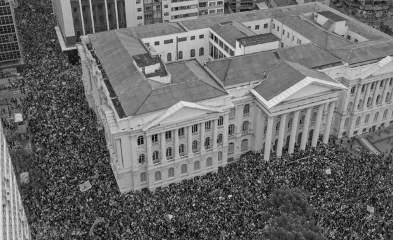 Poucas mulheres comunistas saíram às ruas contra Bolsonaro