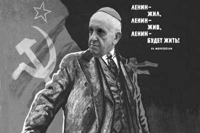 Mundo horrorizado com declarações de Papa comunista