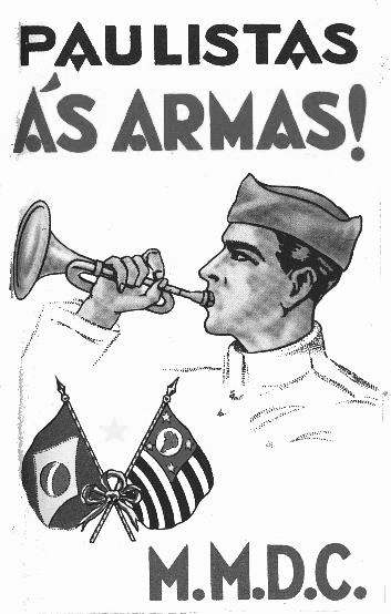 Homem bom mirim convoca veteranos de 1932 para  a batalha final contra o comunismo