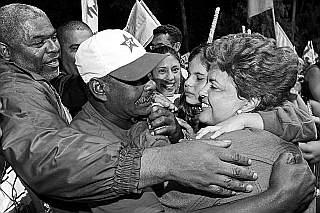 Dilma vai mal na campanha