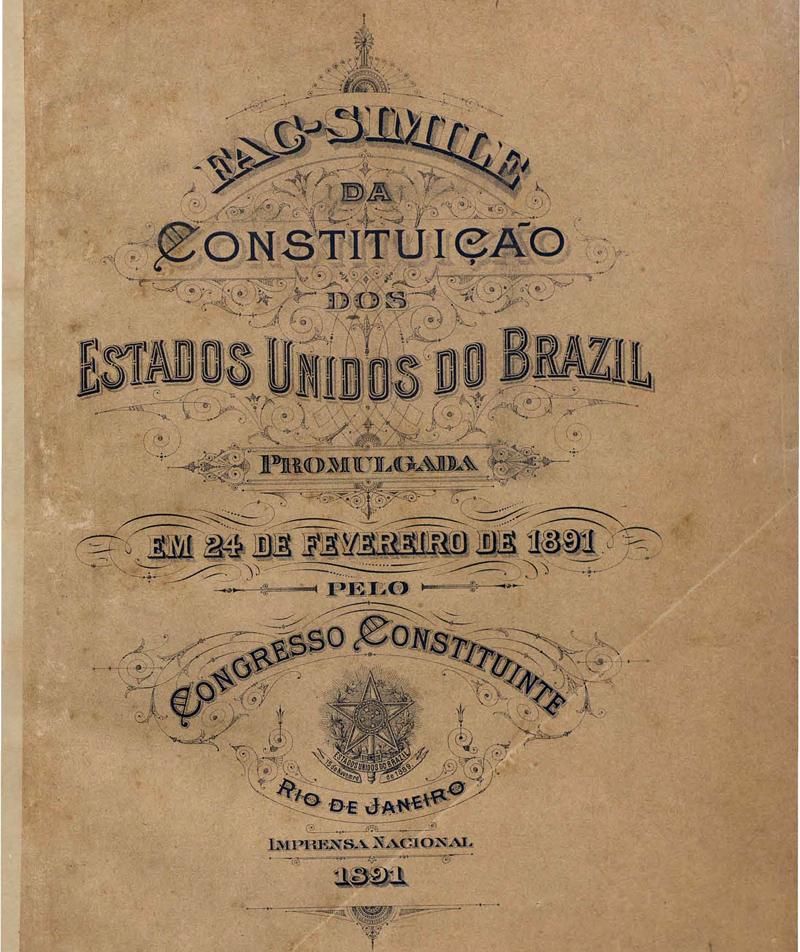 Normas constitucionais que regem a República dos Homens Bons