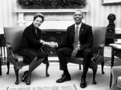 Obama só recebeu Dilma porque ela prometeu entregar o Pré-Sal