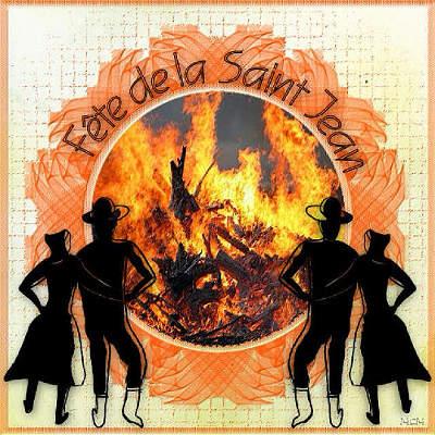 Homens bons comemoram la Fête de la Saint-Jean com grandiosa quermesse