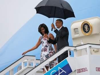 Comunista, Obama foi para Cuba