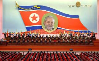 Fuga de Lula para Etiópia previa escala na Síria e destino final era a Coreia do Norte