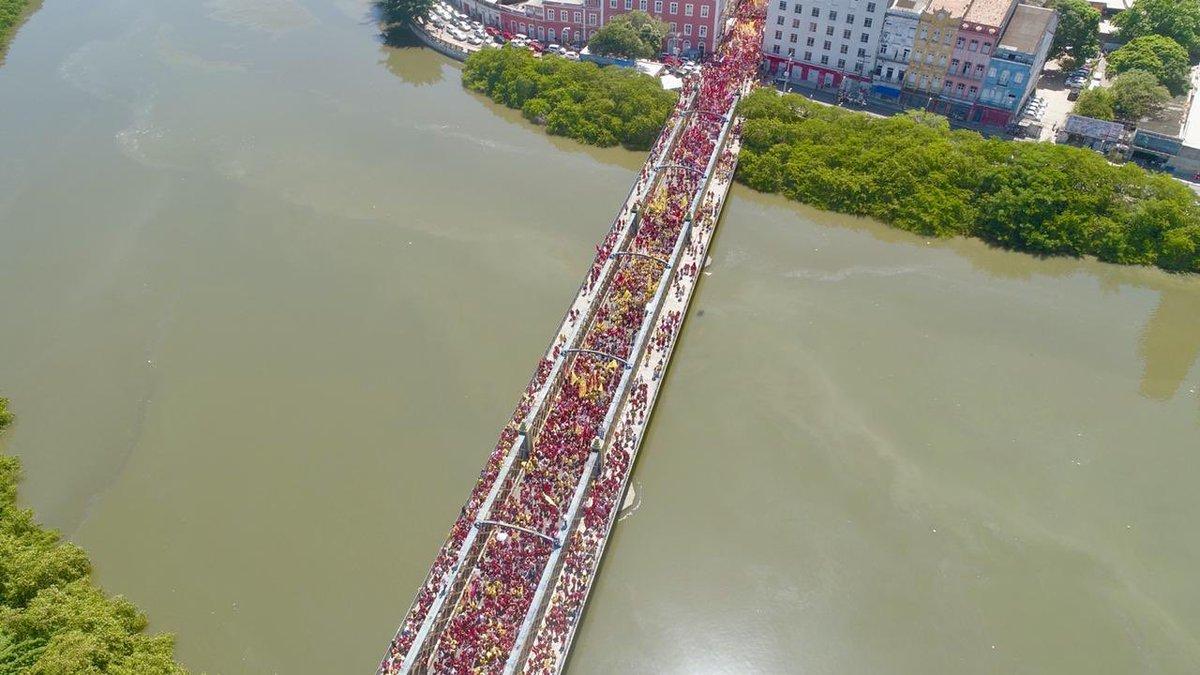 Galo da Madrugada faz desfile antecipado no Recife – Haddad diz que era comício dele