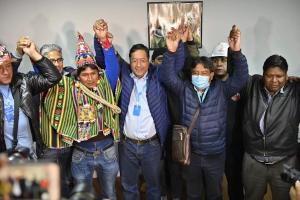 Milhões de comunistas dão o golpe na eleição da Bolívia