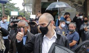 Com jingle de Bruno Covas, entrega de cestas básicas pela prefeitura de São Paulo provoca reclamação de Guilherme Boulos – o TRE – SP deverá puni-lo por reclamação