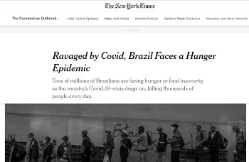 Imprensa internacional destoa da nacional por não ver a poesia na questão alimentar