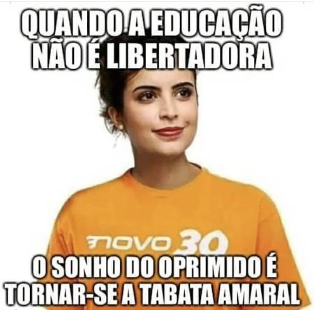 Quando a educação não é a do Paulo Freire o Brasil progride